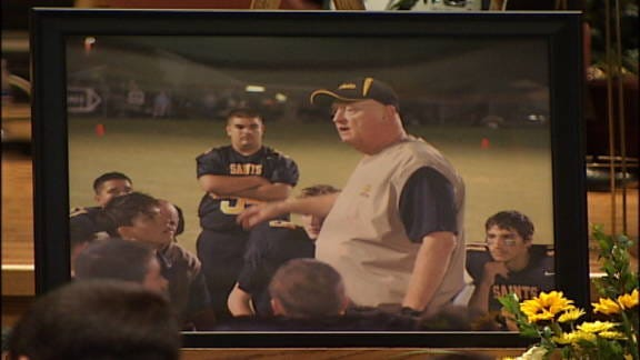 Funeral Service Held for Santa Fe South Football Coach