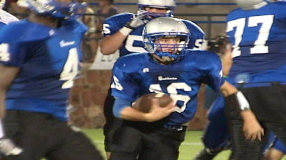 Guthrie Takes Out Aggression on Deer Creek