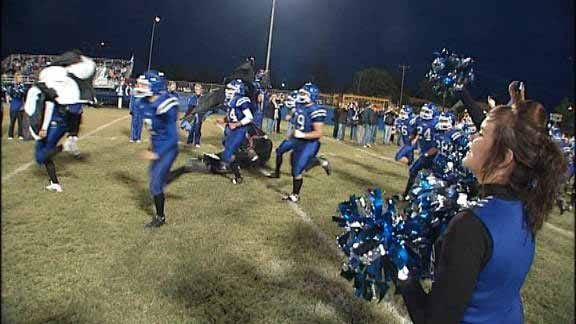 Harrah Panthers' Homecoming Spoiled by Guthrie