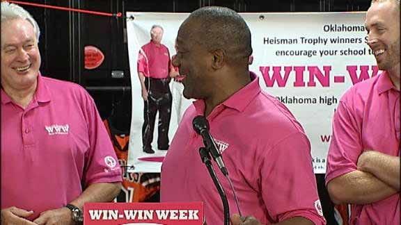 Heisman Trophy Winners Back Win-Win
