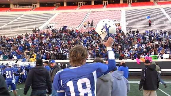 Hennessey Eagles Make History with Class 2A Title Win