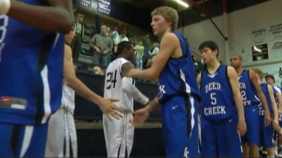 Indians Hold Lead Wire to Wire to Beat Deer Creek