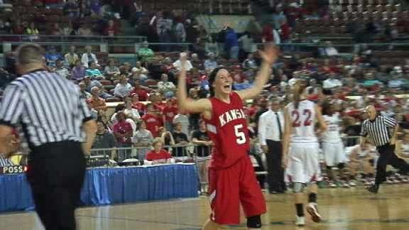 Kansas Holds Off Prague in 3A State Semifinals