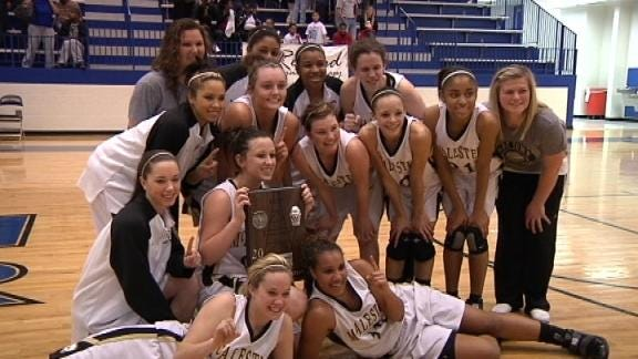 Lady Buffs One Win From a Title