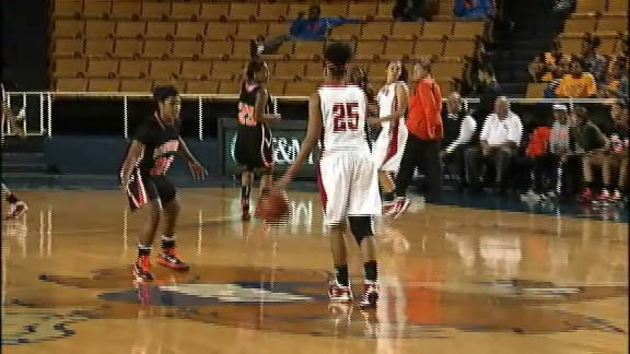 Lady Hornets Hold on to Advance against Carl Albert