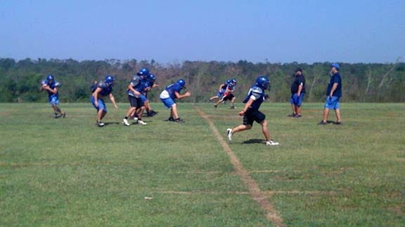 Little Axe Football Trying to Regain Normalcy