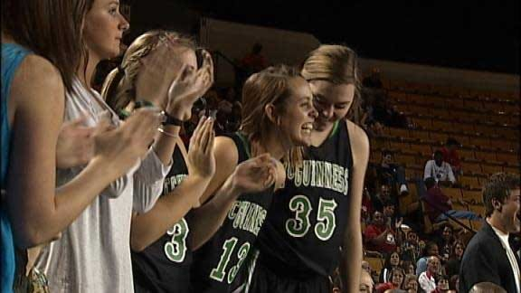 McGuinness Girls Beat East Central to Win First Gold Ball
