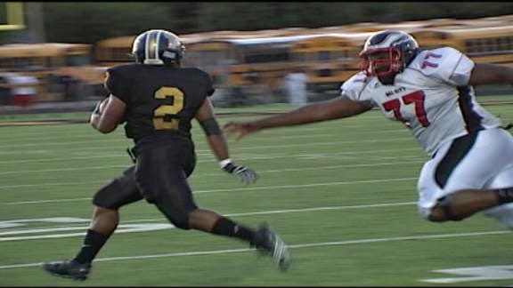 Midwest City Bombers Blast past Del City Eagles