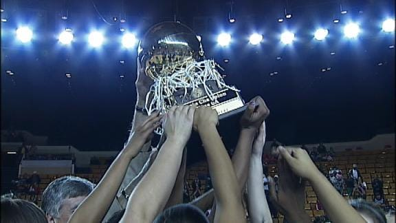 Midwest City Girls Beat Norman for 6A Gold Ball