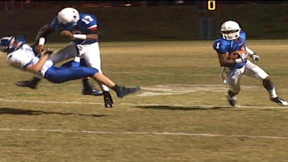 Millwood Falcons Roll Past Newkirk in First Round