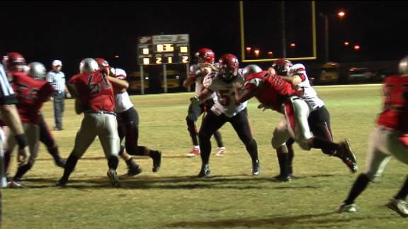 Mustang Cruises to 54-0 Victory