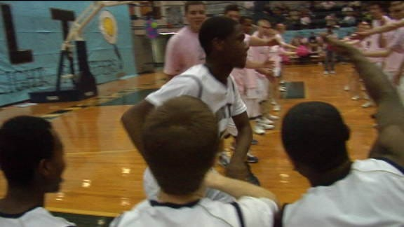 Mustang Holds off Edmond North on the Road