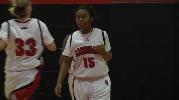 No. 1 East Central Girls Cruise Past Hale 70-37