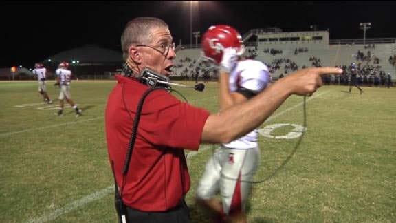 On the Mic: Carl Albert Head Coach Gary Rose