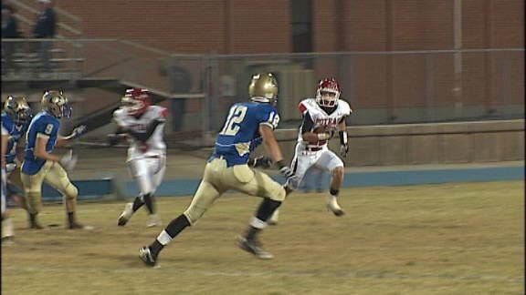 Oologah Mustangs Stampede Over Poteau Pirates