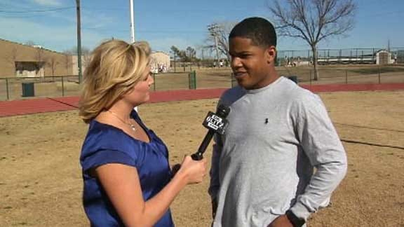 OU Commitment Sterling Shepard Discusses Crimson and Cream
