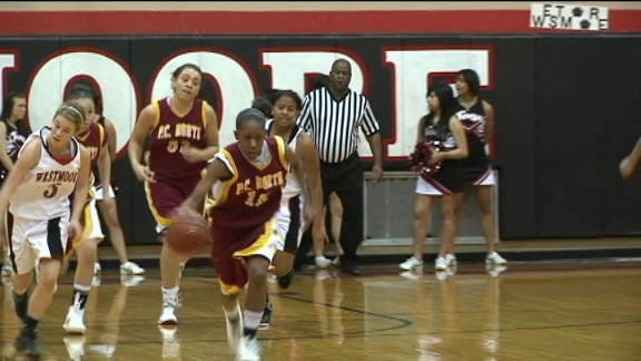 P.C. North Lady Panthers Pounce on Westmoore