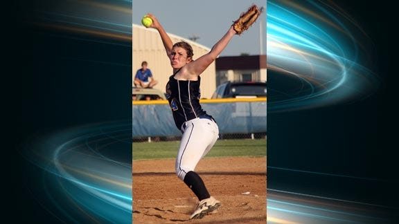Piedmont Ladycats Sophomore Pitches No Hitter