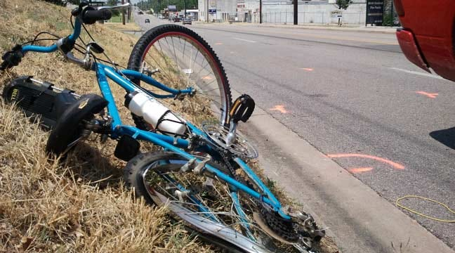 Police Credit Helmet For Saving Tulsa Cyclist's Life
