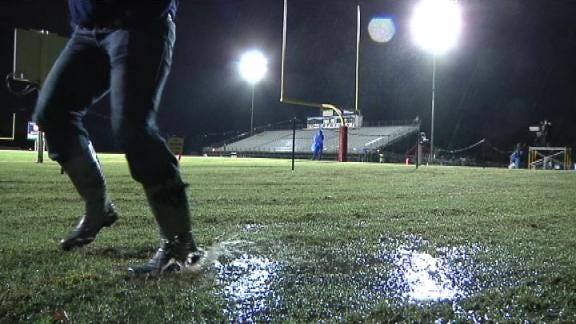 Soggy Weather Forces High Schools to Postpone Games