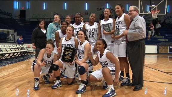 The Lady Wolves Win the Shawnee Shootout