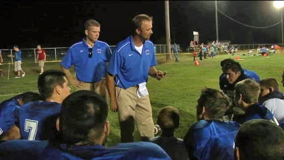 Two Coaches Invested in Gracemont Football