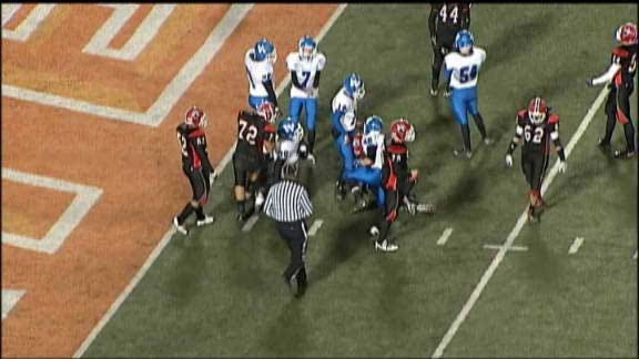 Woodland Wins Defensive Struggle for Class A Title