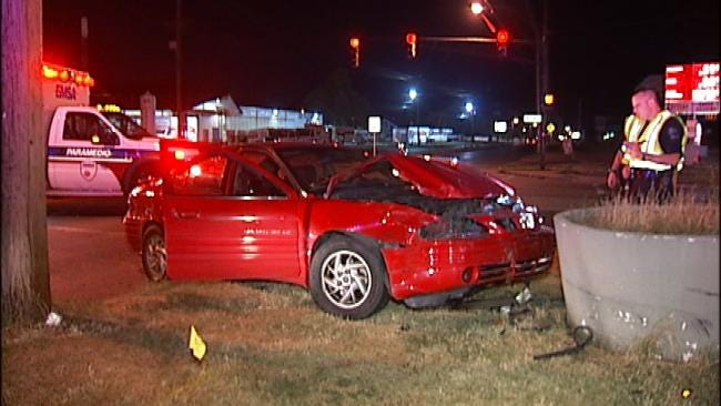 Wreck Puts Tulsa Man In Same Hospital With Pregnant Wife