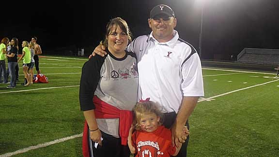 Yukon Coach's Support Starts At Home