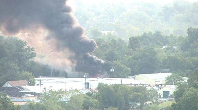 Meth Lab Found After North Tulsa Tire Fire