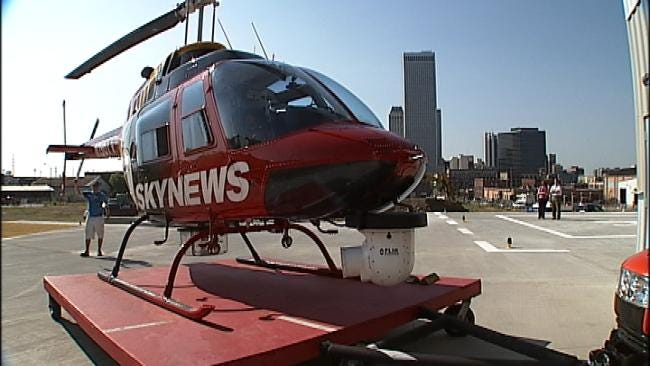 SkyNews6 Lands At Its New Home In Downtown Tulsa