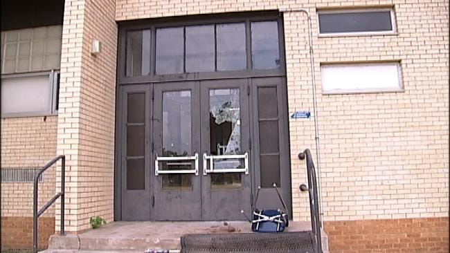 Tulsa's Chouteau Elementary Broken Into Twice In Two Days