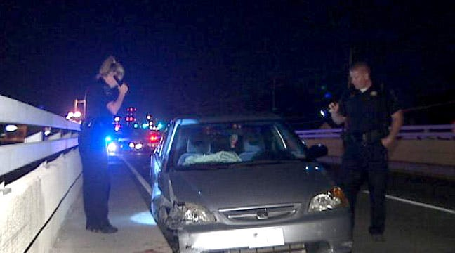 Passenger Killed Hanging Out Of Car Window In Tulsa Wreck