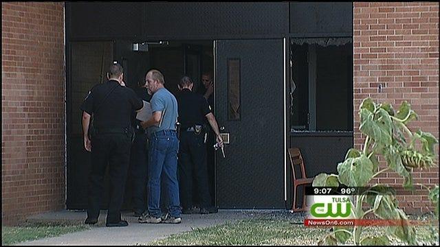 Three Kids Caught Breaking In, Vandalizing Tulsa High School