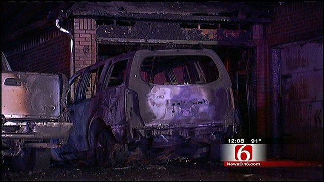 Fire Damages Broken Arrow Family's Home