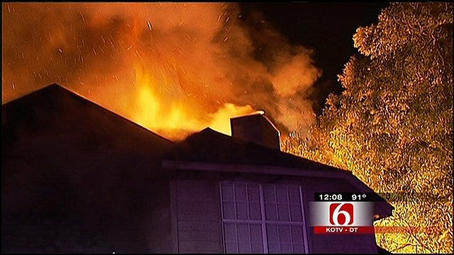 Fire Damages Tulsa Daycare, Two Homes