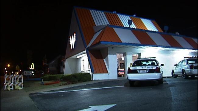 Man Arrested For Robbing Tulsa Whataburger
