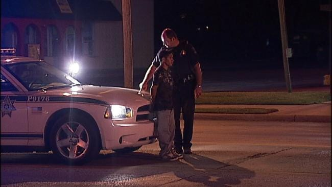 Driving On Flat Tire Lands Man In Tulsa County Jail