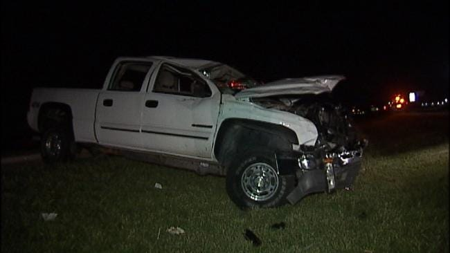 OHP: Falling To Sleep May To Be Blame For Tulsa County Highway Crash