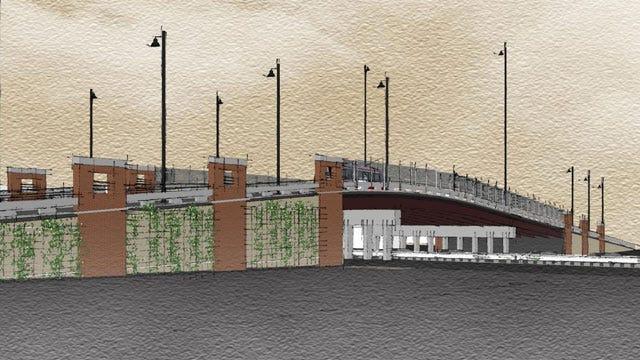 Tulsa's Downtown Boulder Bridge To Be Rebuilt