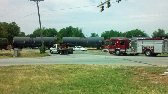 Driver Injured In Collision With Train In Rogers County
