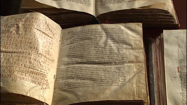 Oklahoma Exhibit Features Thousands Of Bible Artifacts