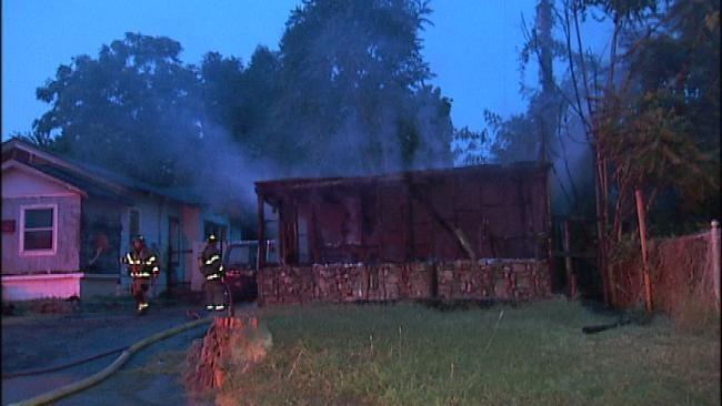 Tulsa Storage Building Fire Under Investigation