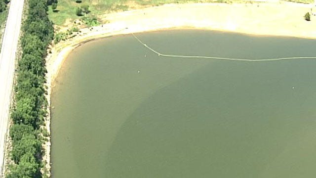 Blue Green Algae Bloom Closes Beach At Ft. Gibson Lake