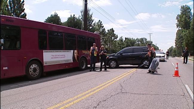 Ten Injured In Tulsa Transit Bus Crash