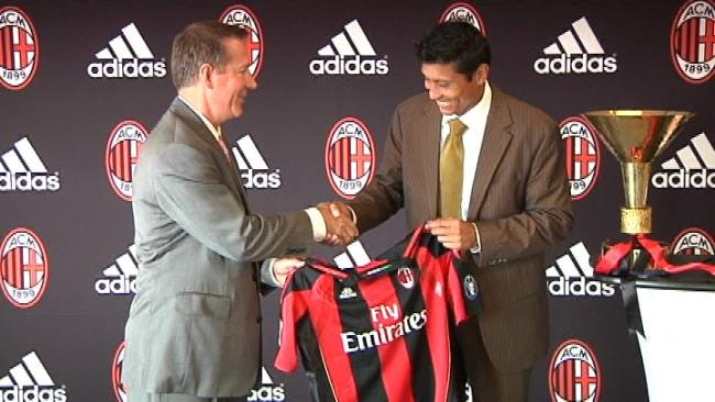 Tulsa To Host International Soccer Tournament With AC Milan