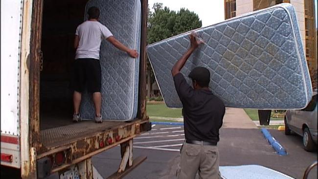 Oral Roberts University Donates Mattresses To Joplin Tornado Victims