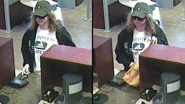 Police Look For Woman Who Robbed A Tulsa Bank