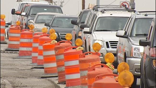 Double Tulsa Construction Projects Snarl Traffic At I-44 And 41st