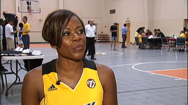 Former WNBA Star Taking A Shot With The Tulsa Shock